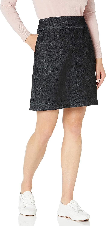 NIC+ZOE Women's All Day Denim Skirt