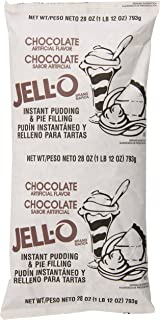 JELL-O Instant Chocolate Fudge Pudding & Pie Filling Mix (28 oz Boxes, Pack of 12)