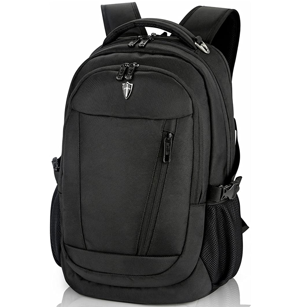 Victoriatourist Laptop Backpack with Computer Compartment Fits up to 15.6 inches (black8005)