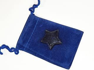 Fundamental Rockhound Products: Blue Goldstone/Bluestone Gemstone Star pocket stone, Elements of Nature
