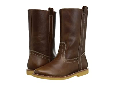Elephantito Western Boot (Toddler/Little Kid/Big Kid) (Brown) Cowboy Boots
