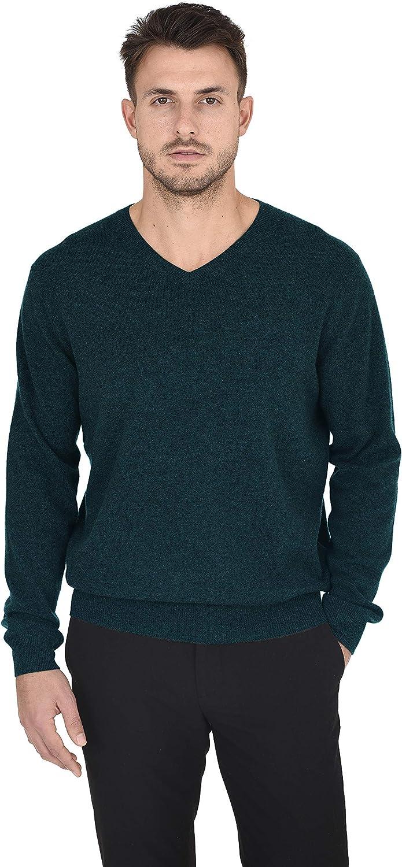 Cashmeren Men's 1 year warranty Essentials Knit 40% OFF Cheap Sale V-Neck Sweater Wool Cashmere Lon