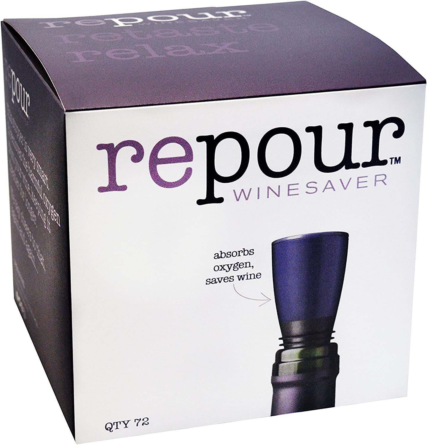 Repour Wine Saver Ranking TOP14 Detroit Mall 72-Pack - Preserver Stopper and Remov