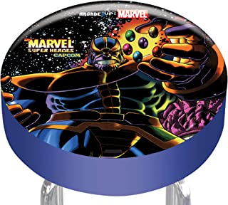 """Arcade1Up Marvel Super Heroes Adjustable Stool, 21.5"""" to 29.5"""" - Electronic Games"""