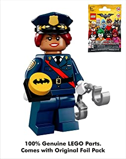 Batman DC Comics Lego Movie 002 GCPD Female_Barbara Gordon_Police Officer Mini Blind Bag Figure_71017