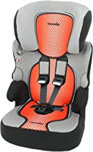 mycarsit asiento de coche y asiento elevador, Grupo 1/2/3(de 9a 36kg), color rojo