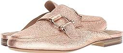 Rose Gold Sparkle Metallic Leather