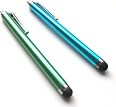 Bargains Depot® (Green & Blue) 2 pcs (2 in 1 Bundle Combo Pack) Capacitive Stylus/styli Universal Touch Screen Pen for Tablet PC Computer : Apple iPad (first generation) 16GB / 32GB/ 64GB wifi + 3G model (MB292LL/A, MB293LL/A, MB294LL/A, MC349LL/A, MC496LL/A, MC497LL/A) Verizon, AT&T compatible