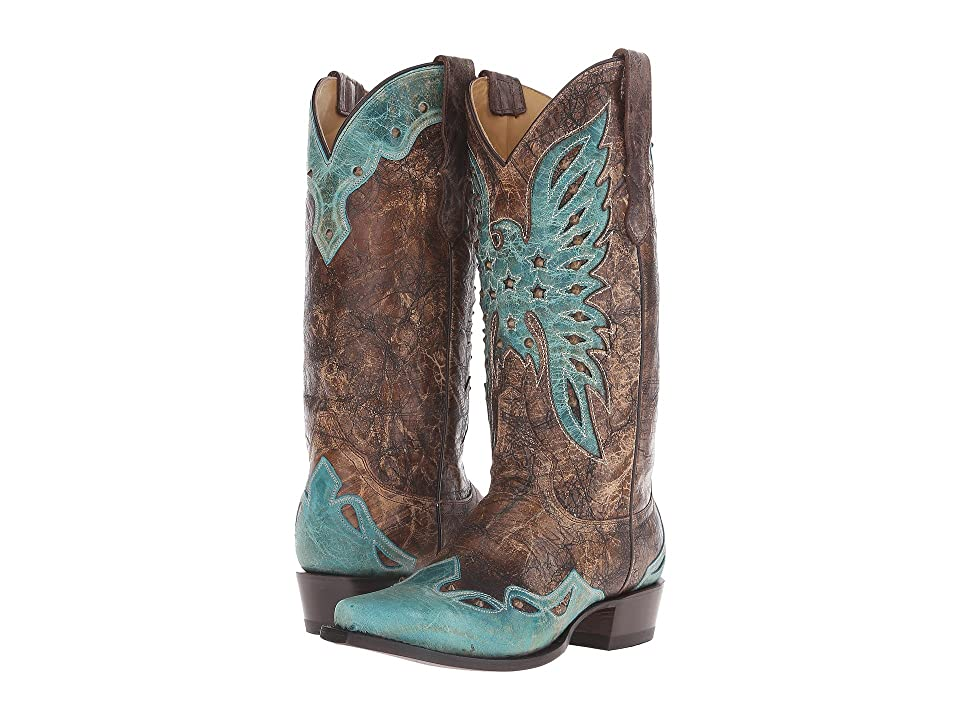 Stetson Bella (Crackled Brown Vamp) Women