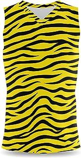 Rainbow Rules Zebra Print Mens Sleeveless Tank Top