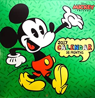2017 Disney's Mickey Mouse & Friends 16-Month Wall Calendar
