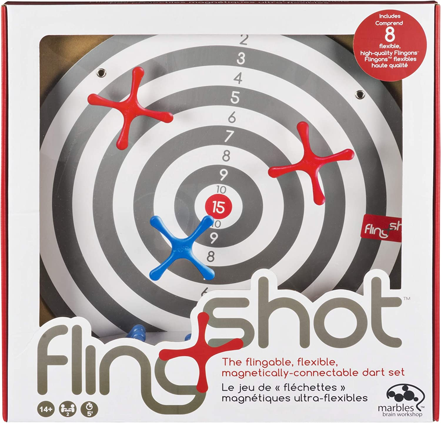 FlingShot Free shipping anywhere in 2021 model the nation – Interactive Dart Game Pieces Magnetized with