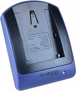 Cargador (Micro-USB sin Cables/adaptadores) FM500H para Sony DSLR Alpha A300 A350./ SLT-A58 A65 A77 A68. / ILCA-77M2 - s.Liste!