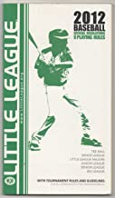 Little League Rules and Regulations for Baseball Divisions 2012