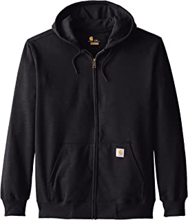 Carhartt Mens Size Rain-Defender Paxton Heavyweight Hooded Zip Front Sweatshirt-Tall