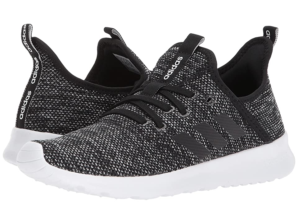 adidas Cloudfoam Pure (Black/White) Women's Shoes
