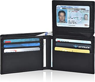 Clifton Heritage Leather Wallets for Men with RFID Blocking - Bifold Stylish Slim Wallet Front Pocket Wallet