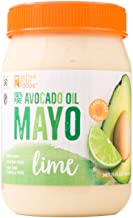 BetterBody Foods Avocado Oil Mayonnaise with Lime, Avocado Oil Mayo with Lime is made with 100% Avocado Oil Non-GMO Cage-Free Eggs Soy & Canola Free, Paleo, 15 oz