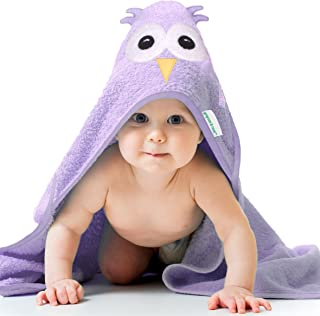 Cute Hooded Towel, Large, Thick, 100% Cotton, Baby Shower Gifts, Grayson and Rose