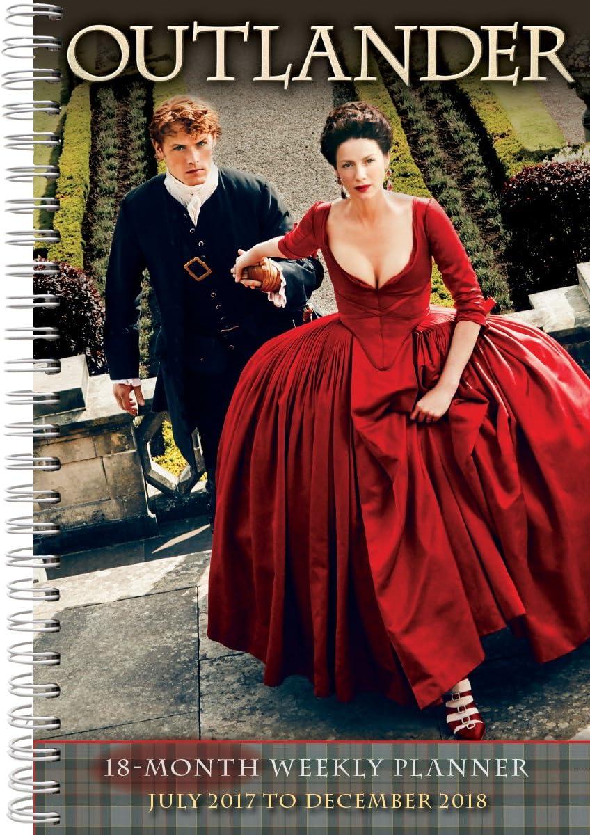 Outlander 2018 Engagement Calendar CW0231 Finally popular Sale item brand