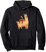 Sleeping Sloth Gifts for Her Girls Kids Women Baby Boy Llama Pullover Hoodie