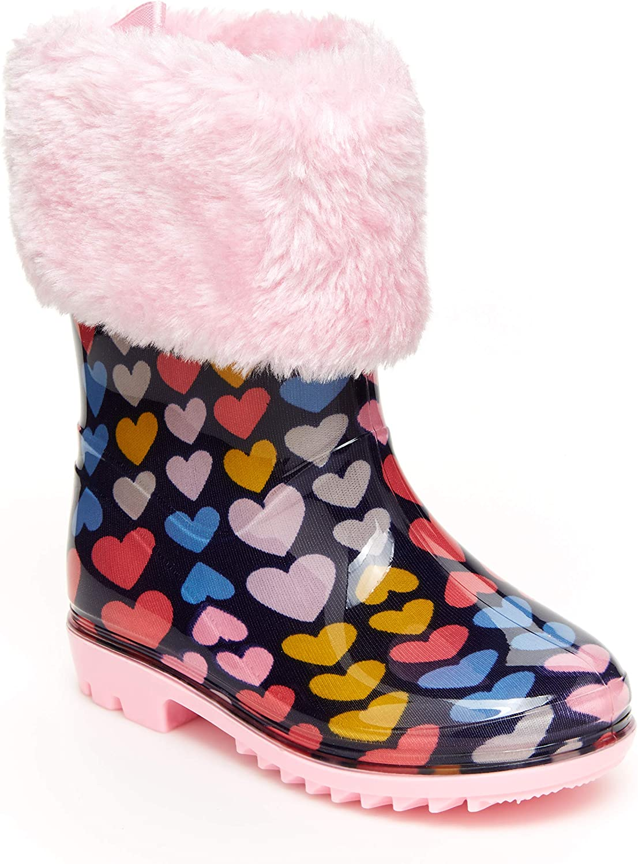 SALENEW very popular Carter's Unisex-Child Girls' Gretel Boots New Free Shipping Rain Print