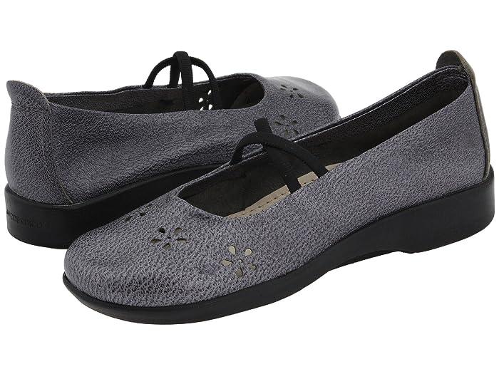 Arcopedico  Flower (Pewter Leather) Womens Maryjane Shoes