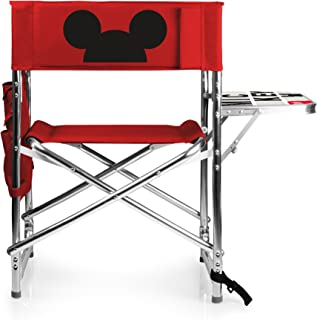 PICNIC TIME Disney Classics Mickey/Minnie Mouse Portable Folding Sports Chair
