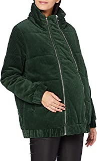 Mamalicious MLDAPHNE 2IN1 Corduroy Jacket A, Mountain View, S Femme