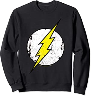 DC Comics Flash Distressed Logo Sweatshirt