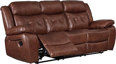 Amazon.com: Flash Furniture Harmony Series Black Leather ...