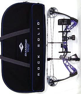 Diamond Edge SB-1 Compound Bow, Purple Blaze, RAK Package, Right Hand, 7-70lbs, with Diamond Soft Bow Case
