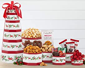 Wine Country Gift Baskets Tis The Season Gourmet Holiday Tower