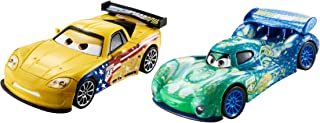 Disney Pixar Cars Jeff Gorvette & Carla Veloso Die-cast Vehicle 2-Pack