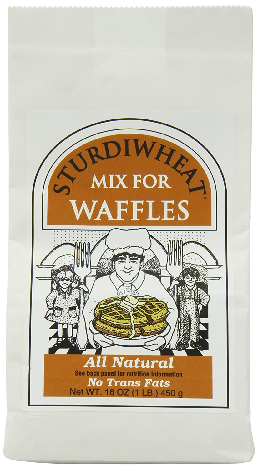 Max 49% OFF Sturdiwheat All Natural Waffle Package Original Mix 16-Ounce Popular overseas