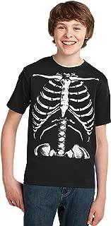 Skeleton Rib Cage | Jumbo Print Novelty Halloween Costume Youth T-Shirt