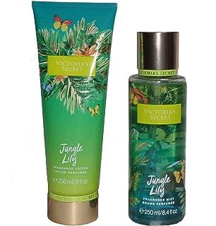 Victoria's Secret Jungle Lily Fragrance Mist and Lotion Set