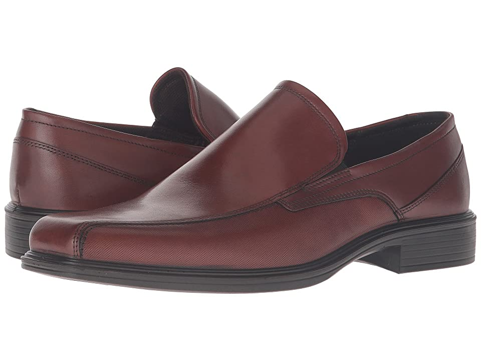 In the office or out for the evening  the Johannesburg Slip-On will have you looking sharp. Full grain smooth leather upper. Squared off toe. Slip-on with twin elastic goring for added flex. Textile sock lining offers breathable wear and surrounds the foot in soft materials. Cushioned leather-covered footbed. Direct-injected  one-component polyurethane outsole with built-in shock point. Imported. Measurements: Weight: 12 oz Product measurements were taken using size 42 (US Men's 8-8.5)  width M. Please note that measurements may vary by size. Weight of footwear is based on a single item  not a pair.