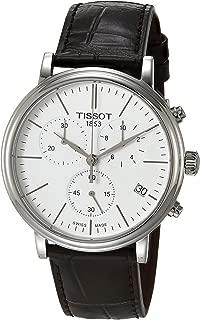 Tissot Mens Carson Swiss Quartz Stainless Steel Dress Watch (Model: T1224171601100)