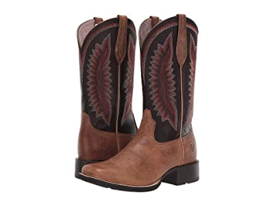 Ariat Quickdraw Legacy (Almond Bluff/Shadow Purple) Cowboy Boots