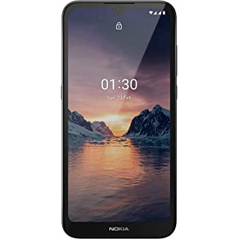 """Nokia 1.3 Fully Unlocked Smartphone with 5.7"""" HD+ Screen, AI-Powered 8 MP Camera and Android 10 Go Edition, Charcoal, 2020 (AT&T/T-Mobile/Cricket/Tracfone/Simple Mobile)"""