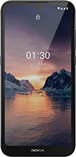 "Nokia 1.3 Fully Unlocked Smartphone with 5.7"" HD+ Screen, AI-Powered 8 MP Camera and Android 10 Go Edition, Charcoal, 2020 (AT&T/T-Mobile/Cricket/Tracfone/Simple Mobile)"