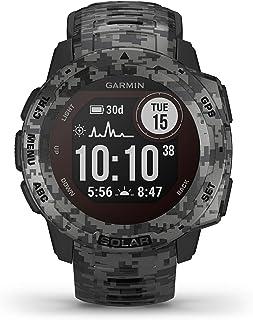 Garmin Instinct Solar Camo, Reloj GPS resistente con carga solar - Grafito