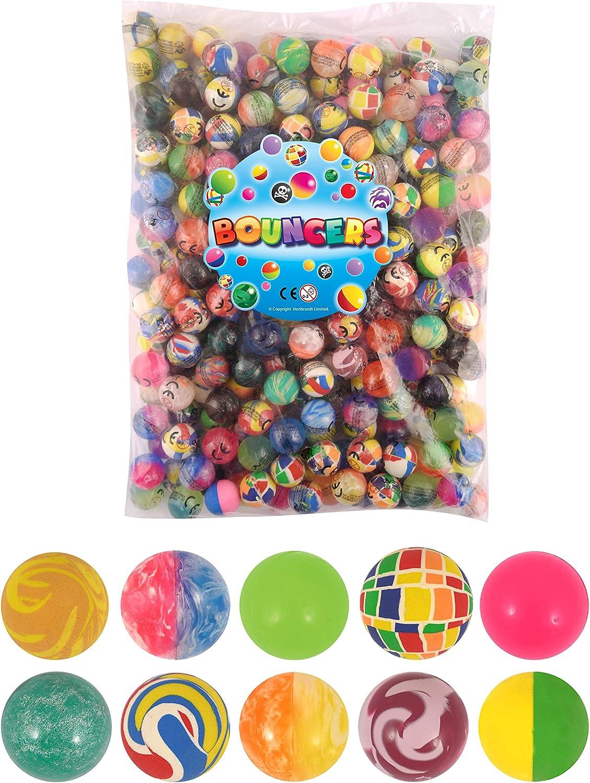 Henbrandt 10 Super Mail order cheap Max 51% OFF Ball Bouncers 27mm filler Party Jet Bag Balls