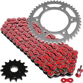 CALTRIC Red Drive Chain and Sprocket Kit Fits HONDA XR650L XR 650 L 1993-2018