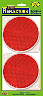 Hy-Ko Products CDRF-3R Nail On Reflector 3 1/4 Diameter Red, 2 Piece