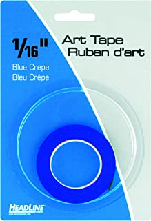 Headline Sign 73164 Graphic Art Tape, Blue, 1/16-Inch Wide, 603 Inches Long