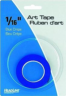 شريط فني تصويري 73164، أزرق، عرض 1/40 سم، طول 1603 سم