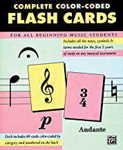 Complete Color Coded Flash Cards for All Beginning Music Students Book PDF