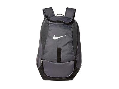 Nike Club Team Swoosh Backpack (Flint Grey/Black/White) Backpack Bags